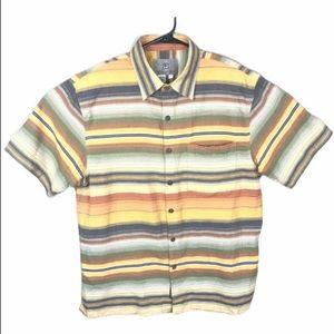 The Territory Ahead Striped Shirt Mens S